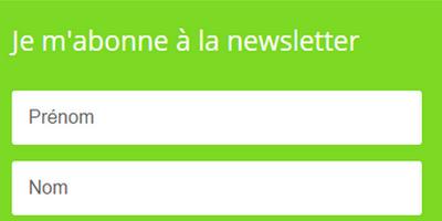 La newsletter : pour ne rater aucune info