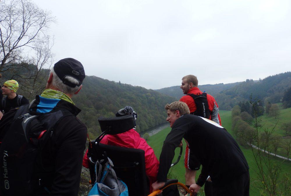 Le trail autrement ou l'aventure de la joëlette