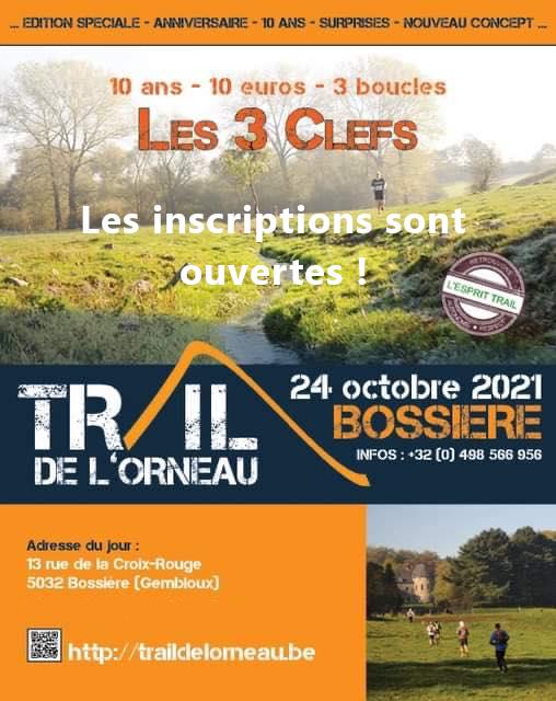 Trail de l'Orneau 2021